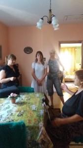 Провелка на място в с.Козарско за предоставяне на социалната услуга