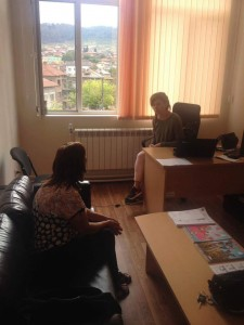 Психологическа консултация на работеща в центъра